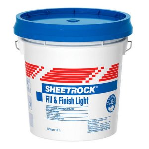 Шпатлевка Sheetrock Fill&Finish Light 17 л
